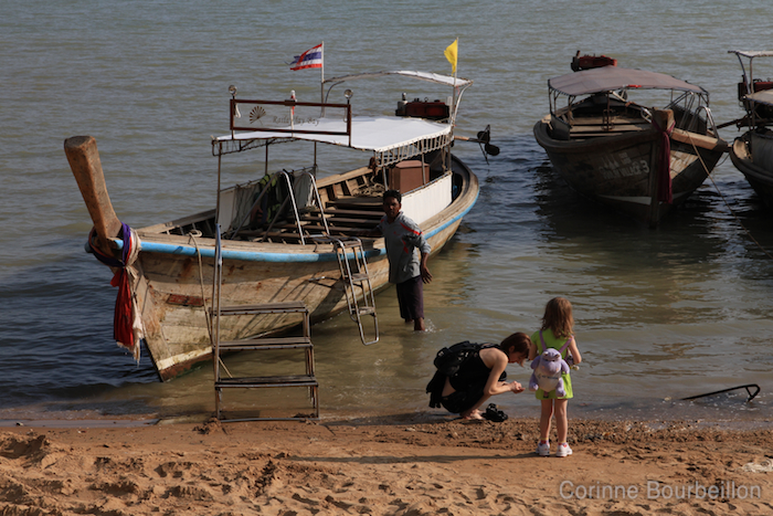 Long-tail boat. Krabi, Thailand, February 2011.