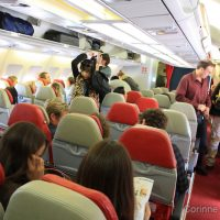 Paris - Kuala Lumpur on Air Asia X.