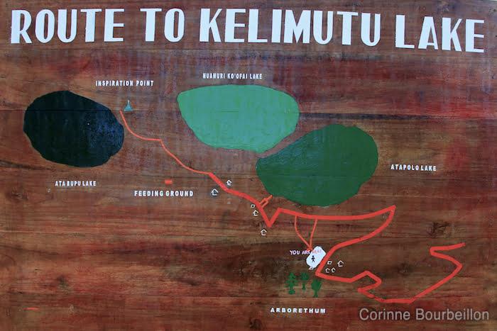 Kelimutu, Flores, Indonesia. July 2011.