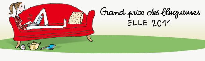 Grand Prix des Blogueuses ELLE 2011.