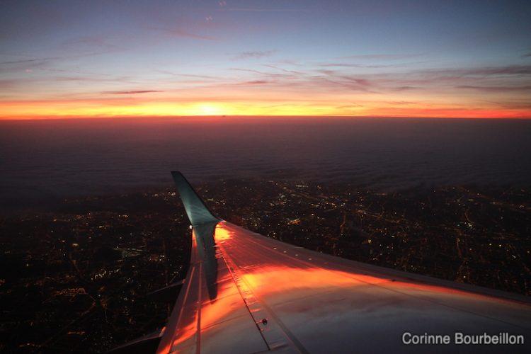 Take off at dawn ...