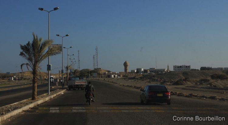 On the road between Marsa Alam and Hamata. Egypt, November 2011.