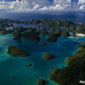L'archipel de Wayag à Raja Ampat. Papouasie occidentale, Indonésie.