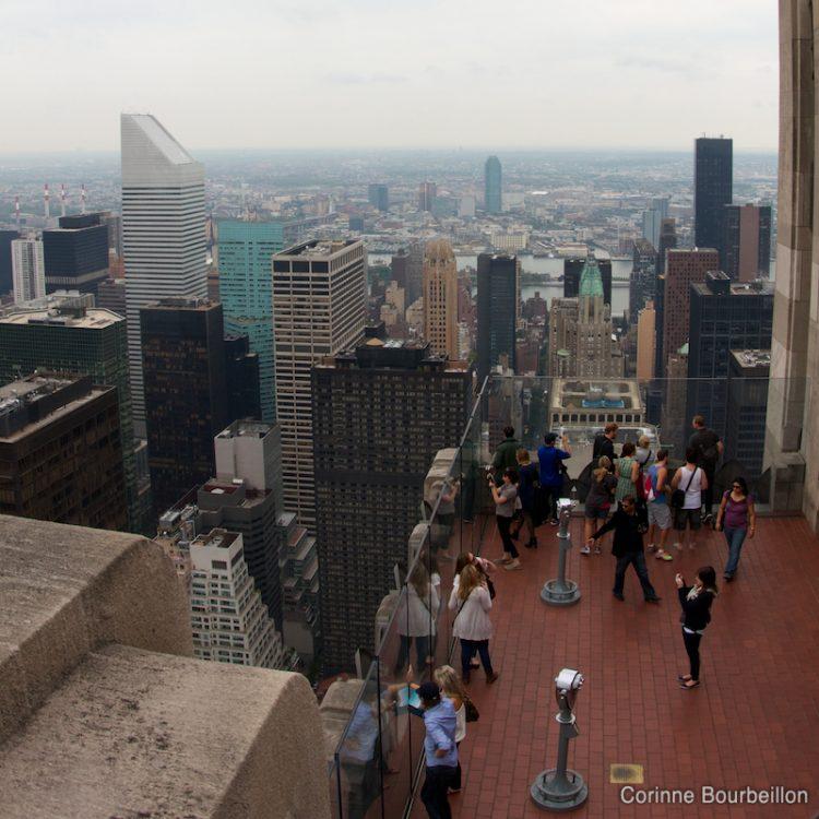 Manhattan. Vue depuis le sommet du Rockefeller Center. (New York, mai 2012.)
