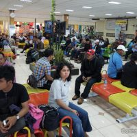 Aéroport de Kupang. Indonésie, juillet 2012.