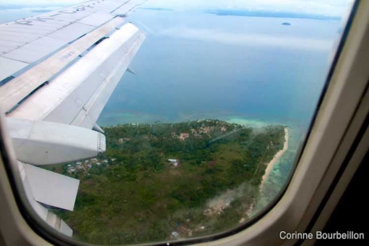 Arrival in Sorong, West Papua. July 2012.