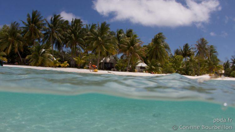 Motu Auira, Maupiti. Polynésie, octobre 2012.