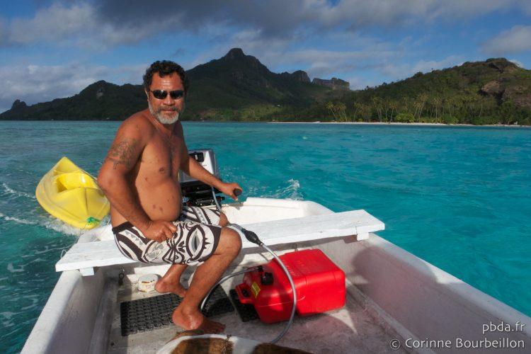 Motu Auira, Maupiti. Polynesia, October 2012.