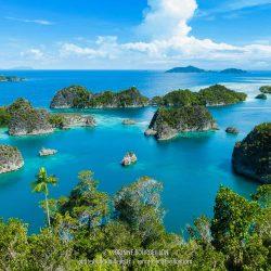 Fam Archipelago. (Raja Ampat, West Papua, Indonesia, January 2015)