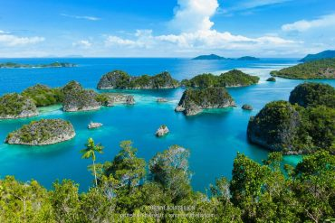 Fam Archipelago. (Raja Ampat, West Papua, Indonesia, January 2015)