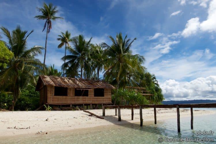 Homestay in Arborek. Raja Ampat. Papua, Indonesia, July 2012.