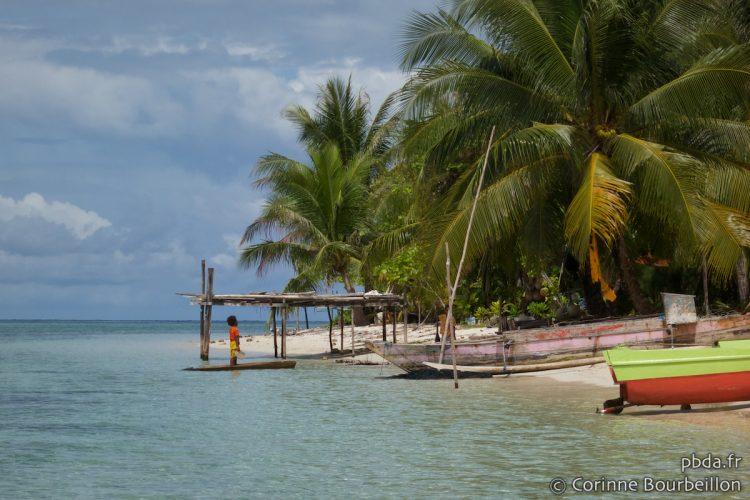 Arborek Island. Raja Ampat. Papouasie, Indonésie, juillet 2012.