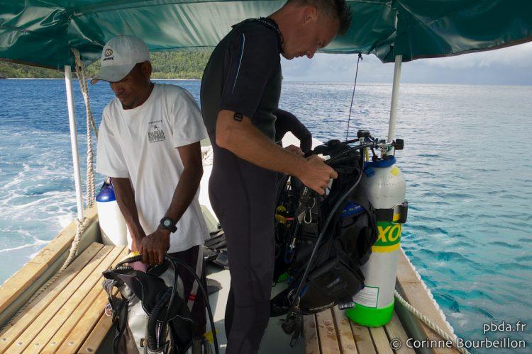Plongée à Raja Ampat. Papouasie, Indonésie, juillet 2012.