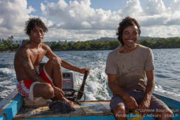 En route pour Bangka Island ! (Nord-Sulawesi, Indonésie. Mars 2013.)