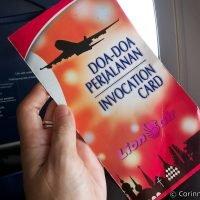 Lion Air Invocation Card. Indonésie, mars 2013.