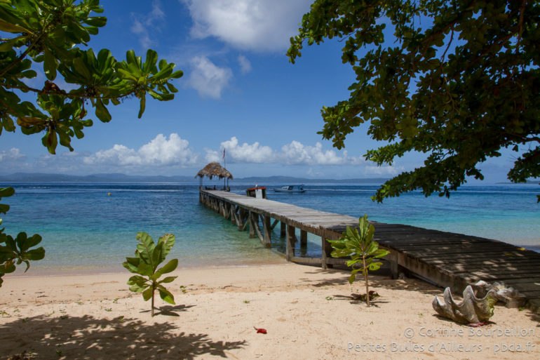 Bangka Island. Coral Eye Beach. Sulawesi, Indonésie, mars 2013.