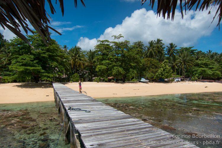 Coral Eye Beach. Bangka Island, Sulawesi, Indonesia. March 2013.