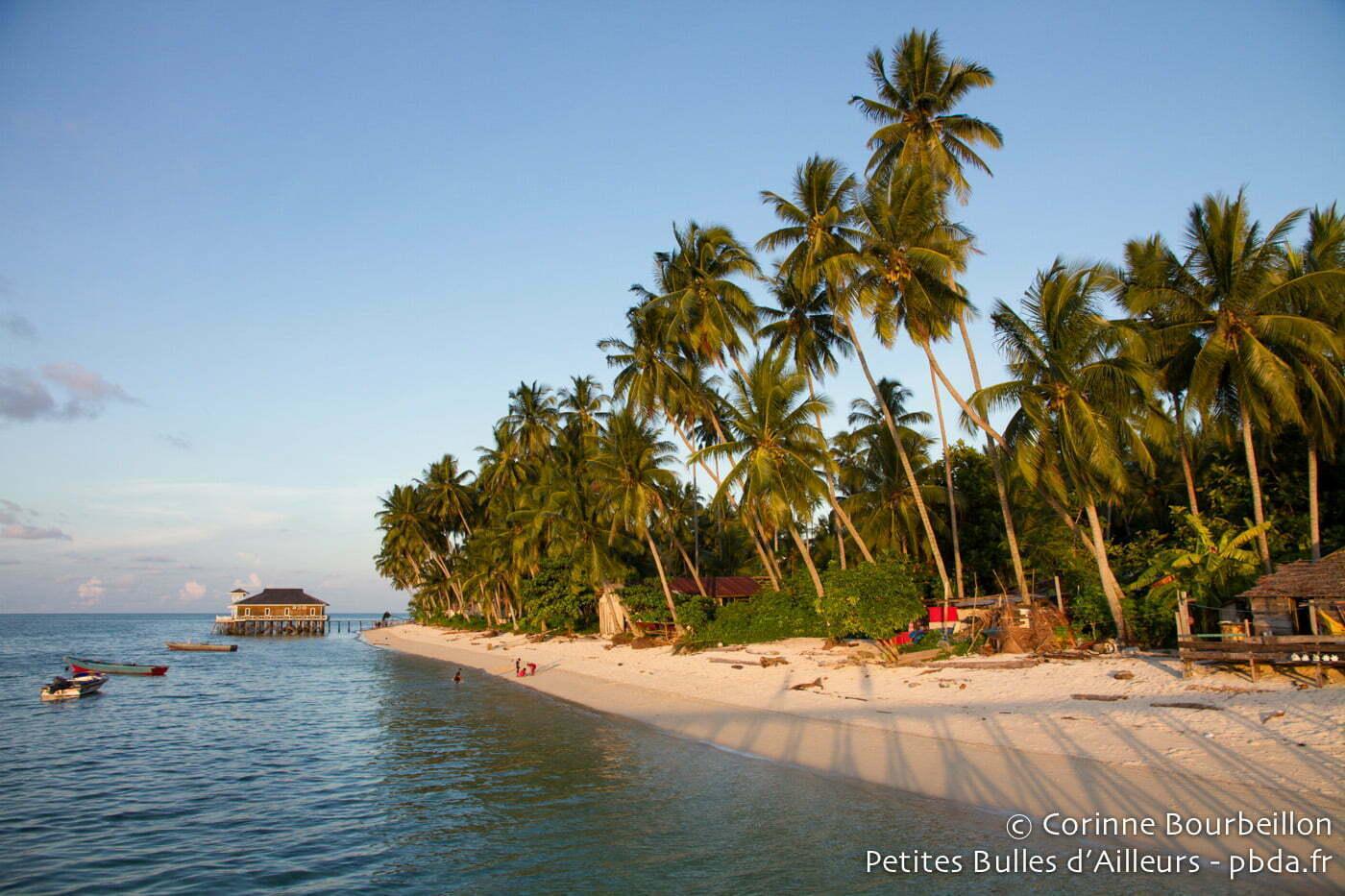 Derawan Island. Bornéo, Indonésie. Juillet 2013.