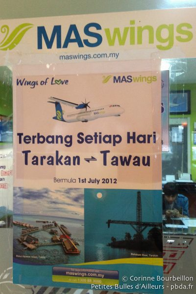 Tarakan-Tawau with MAS Wings.