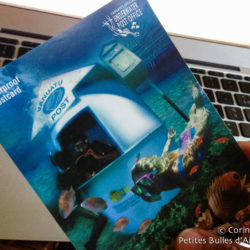 In Vanuatu, there is an underwater post office! Incredible ... Thank you, Didier!