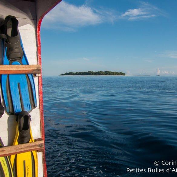 Sangalaki Island. Borneo, Indonesia, July 2013.