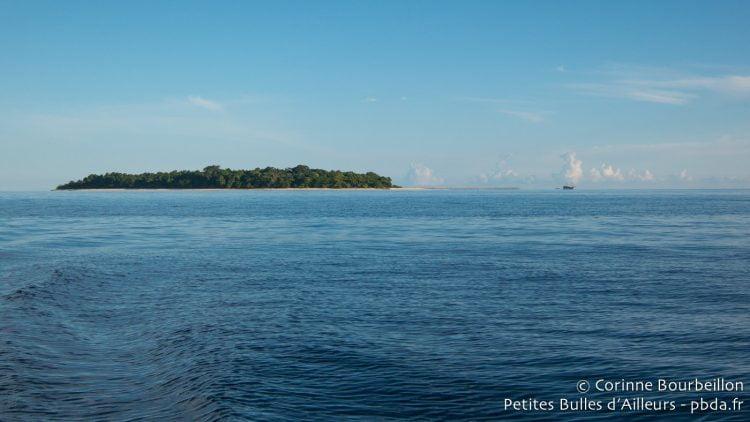 Sangalaki Island. Bornéo, Indonésie, juillet 2013.