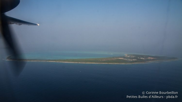 The arrival to Hanimaadhoo. Maldives, February 2014.