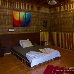My room at Asseyri Inn, Hanimaadhoo.