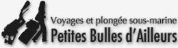 Petites Bulles d'Ailleurs – Blog voyage et plongée logo