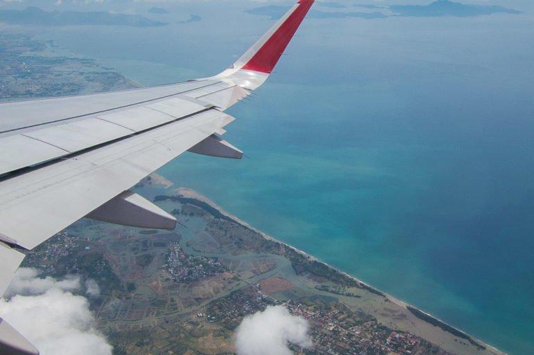 Banda Aceh vu du ciel.