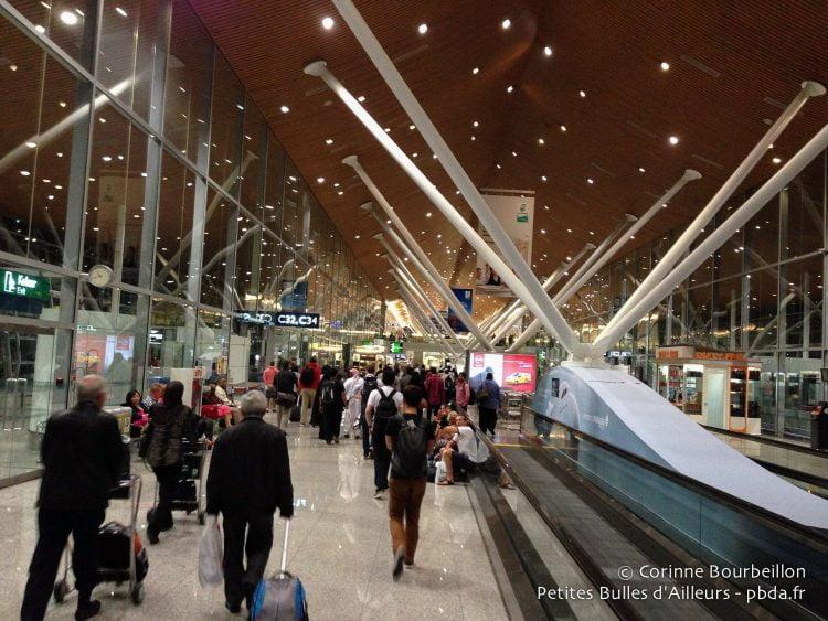 KLIA airport.