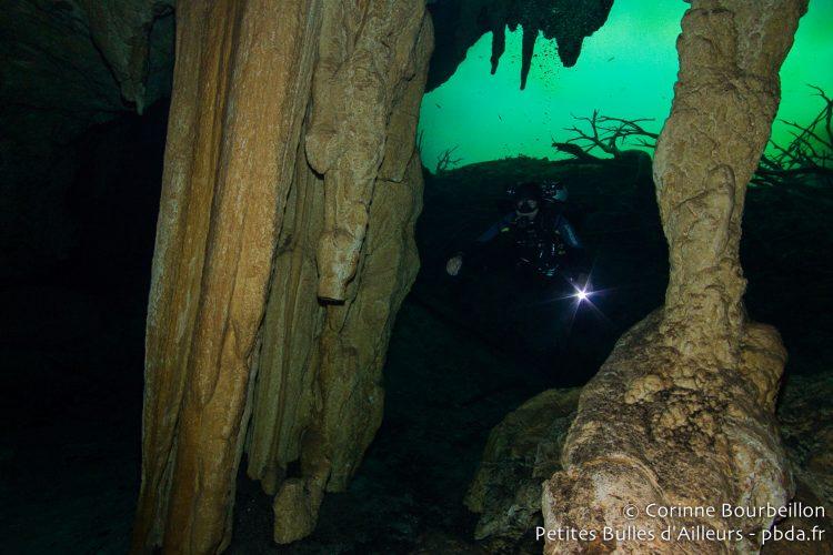 Cenote Carwash. Mexique, juillet 2014.