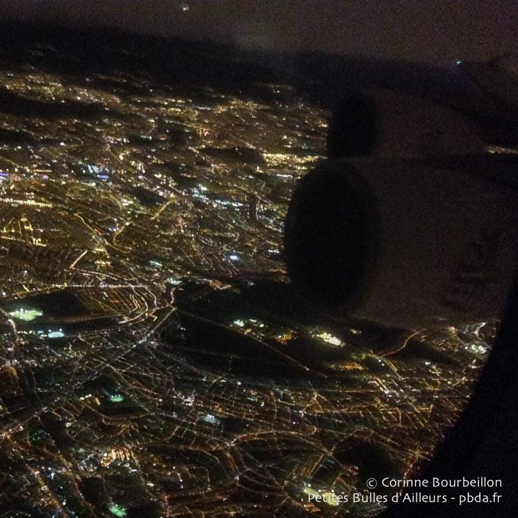 Takeoff over Paris. January 2015.