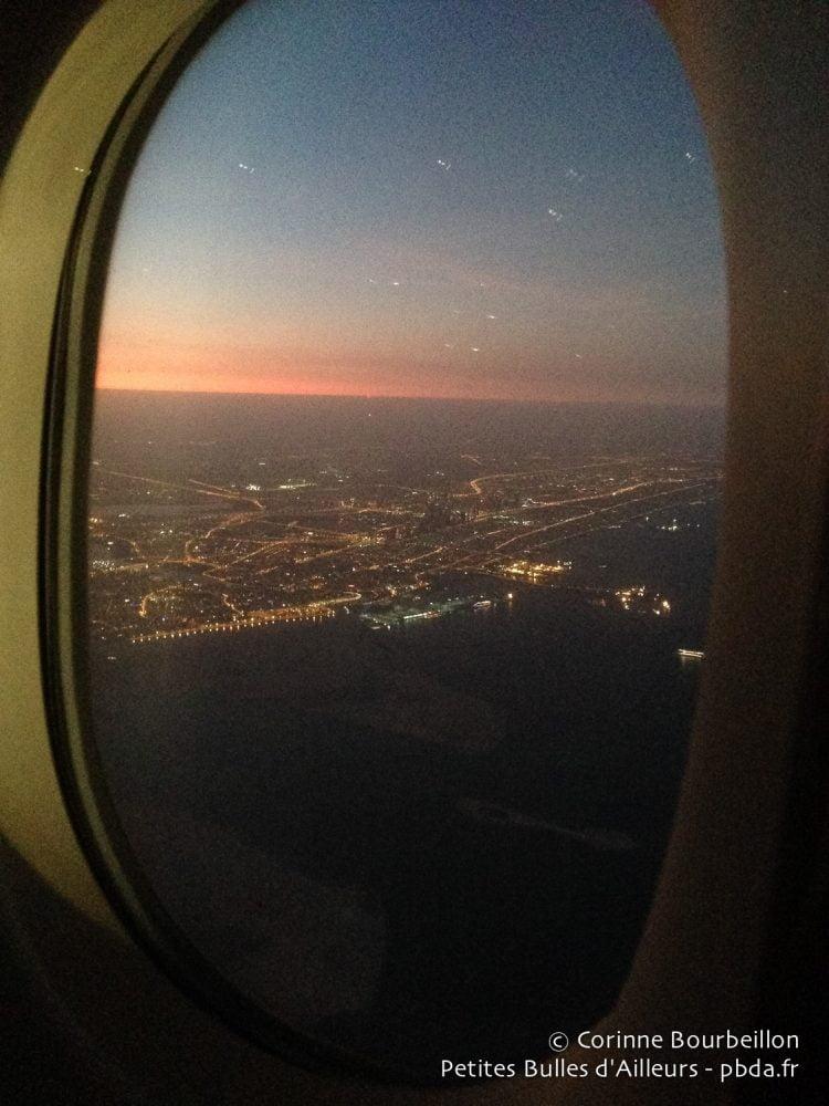 The lights of Dubai. January 2015.