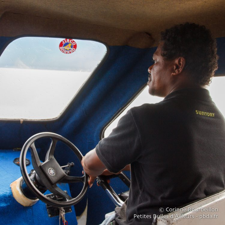On the way to Kri. West Papua, Indonesia, January 2015.