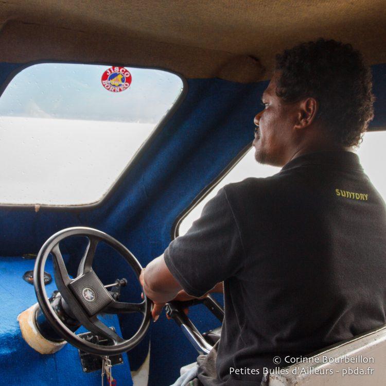 En route pour Kri. Papouasie occidentale, Indonésie, janvier 2015.