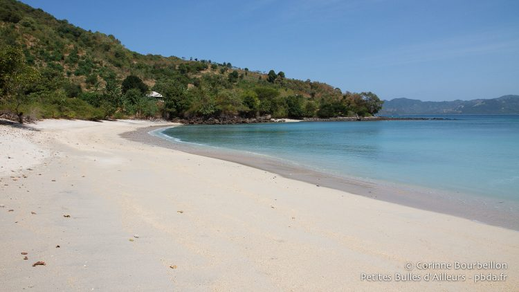 Pangsing Beach. Belongas Bay, Lombok, Indonesia, July 2015.