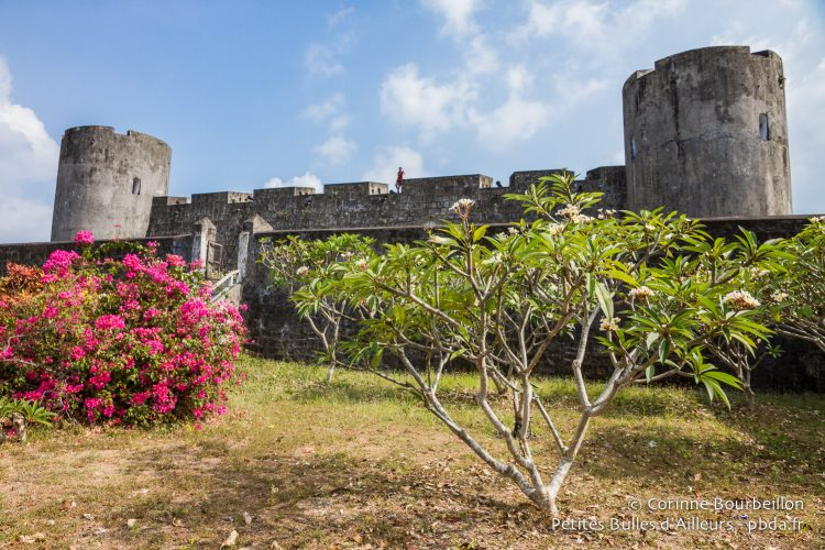 Fort Belgica was built by the Dutch in the 17th century. Banda Neira, Maluku, Indonesia, October 2015.