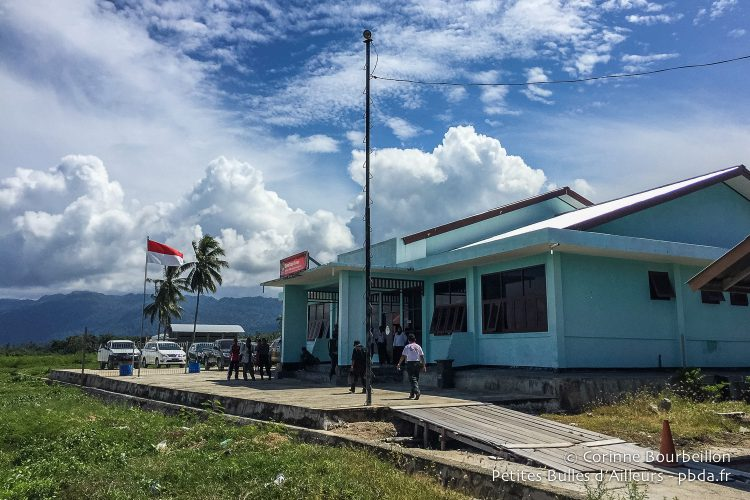"The ""gleaming"" Kaimana airport. (Indonesia, West Papua, March 2016.)"