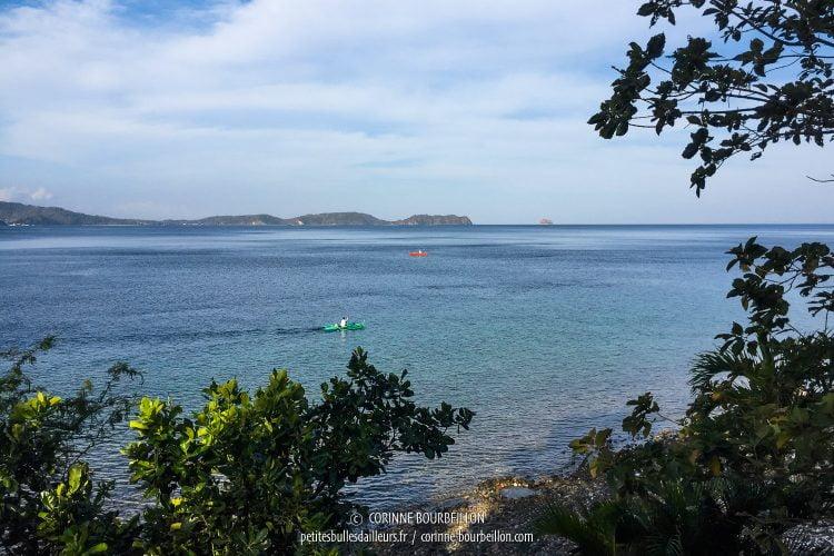 Très sympa, la vue le matin, de ma terrasse ! (Anilao, Philippines, mars 2017)