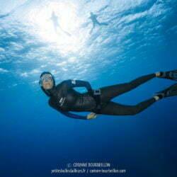Audrey de BlueAddiction, toujours gracieuse en apnée. (Mer Rouge, Égypte, octobre 2016)