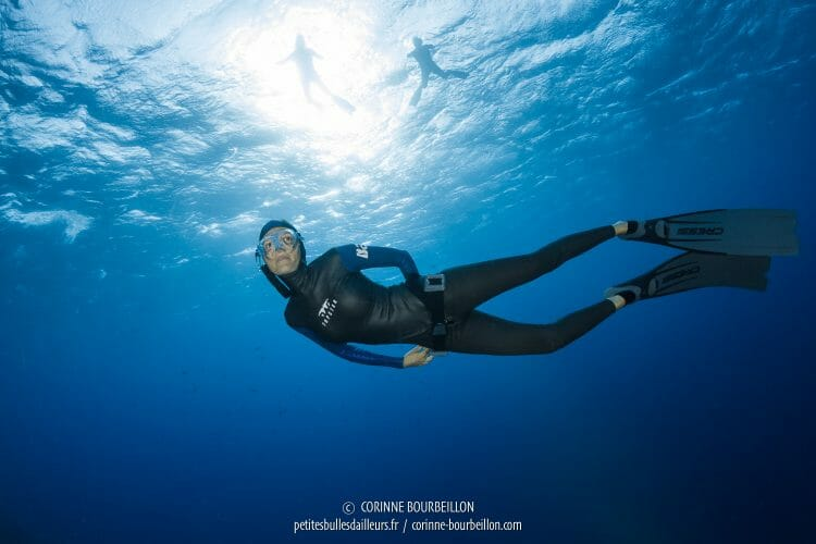 Audrey of BlueAddiction, always graceful in apnea. (Red Sea, Egypt, October 2016)