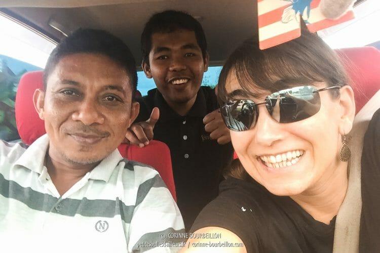 Selfie ! (Luwuk, Sulawesi, Indonésie, juillet 2017)