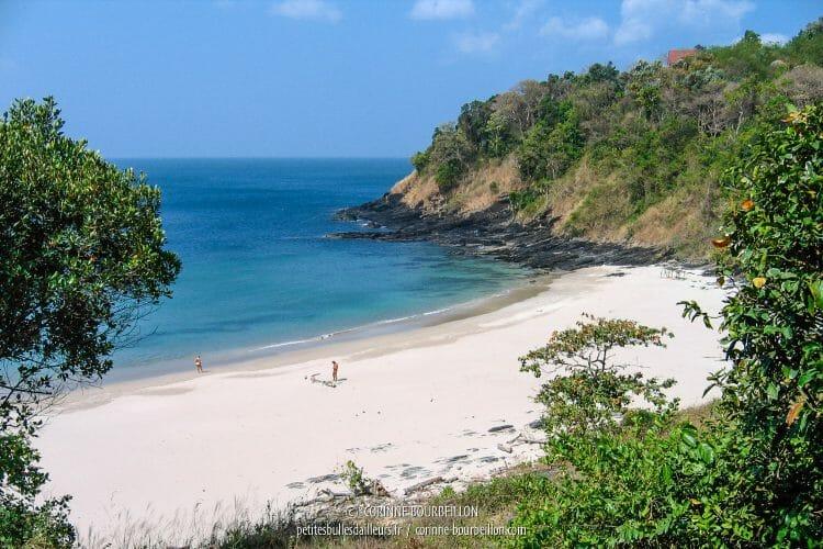 L'une des plages du sud de Koh Lanta. (Thaïlande, janvier 2007)