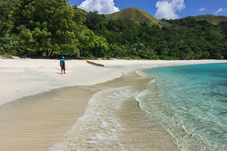 Ondoliang, la plage parfaite... (Centre-Sulawesi, Indonésie, juillet 2017)