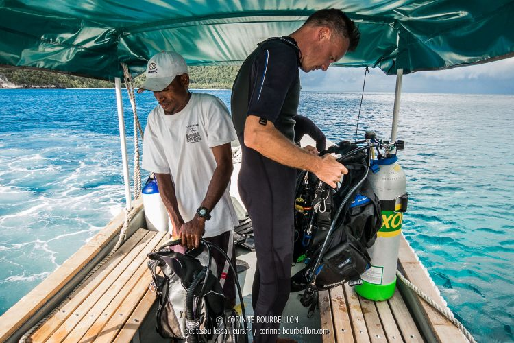 It's time to equip yourself to go diving! (Raja Ampat, July 2012.)