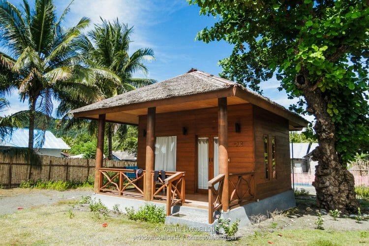 Ma maison pour la semaine au Tompotika. (Kampanar, Sulawesi, Indonésie, juillet 2017)