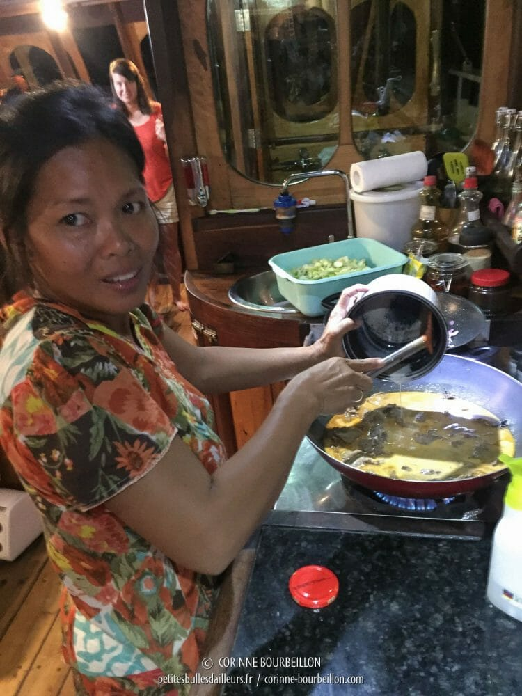 Yani spends her time cooking for divers, who have an ogre appetite. (Komodo, Indonesia, July 2016)