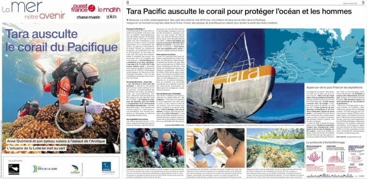 Article published in the supplement La Mer Notre Avenir (West-France)