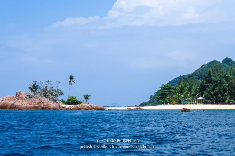 Les plages de Malaisie sont juste parfaites... (Redang, Malaisie, juillet 2006)